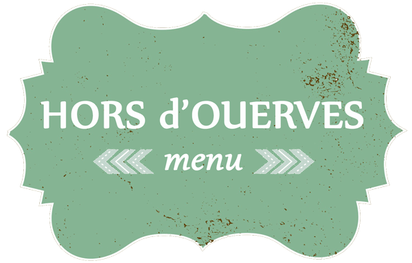 hor doeuvres menu icon