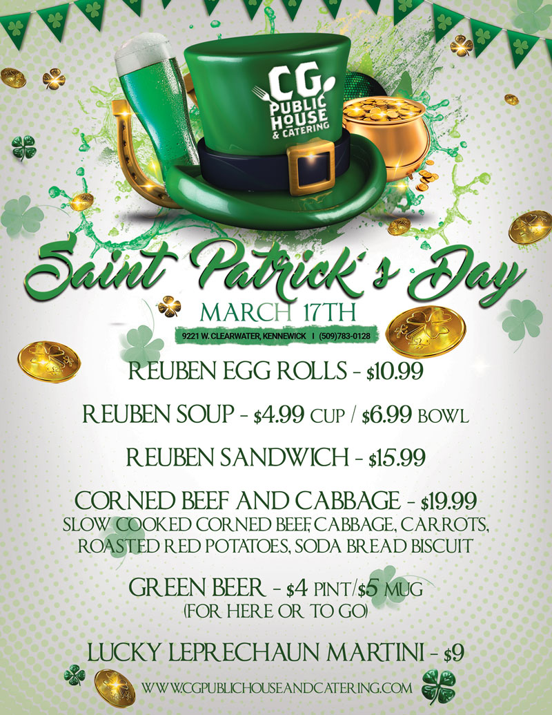 st patricks day kennewick